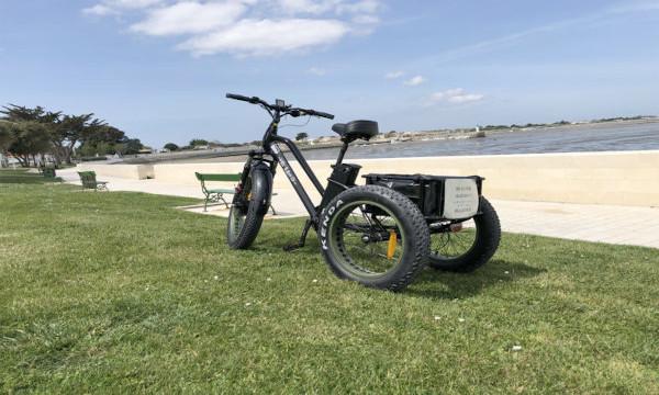 Location tricycle électrique Ile de Ré