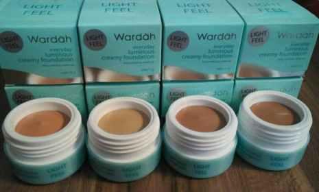 Wardah Luminous Creamy Foundation Beige dan Natural