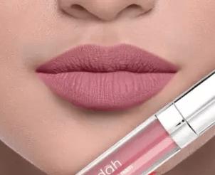 Wardah Exclusive Matte Lip Cream Mauve On