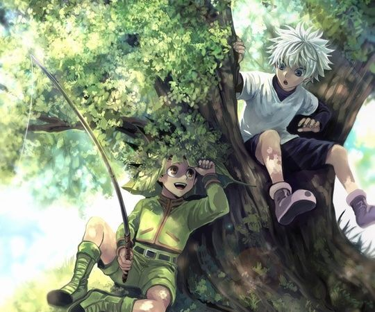 20+ Cool Wallpaper Killua and Gon - Hunter X Hunter