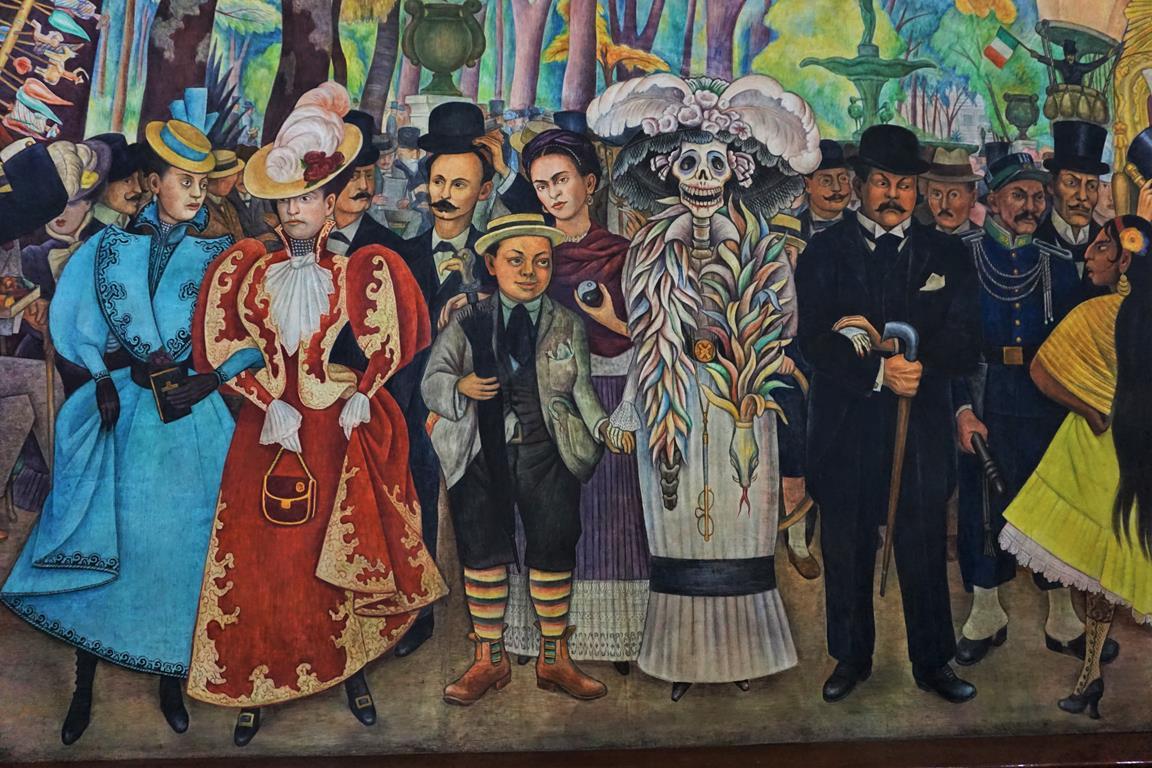 Diego Rivera Museum, Mexico City: Diego Rivera's Sueño de una Tarde Dominical en la Alameda Central