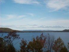 Inspiration Point over Glen Lake