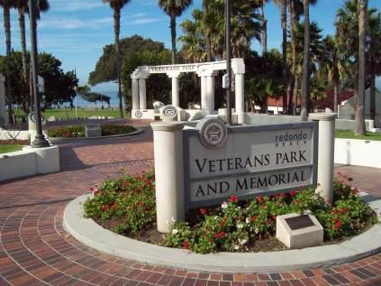 Veterans Park entrance
