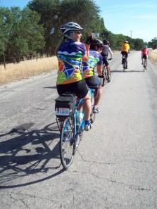 Gailberto climbing Ranchita Canyon Road
