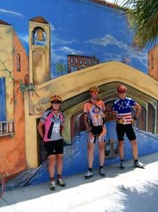 Liz, Patrick & Chuck in Venice