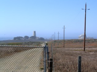 View from Highway 1.