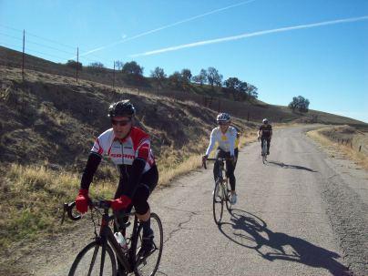 heading up Hog Canyon
