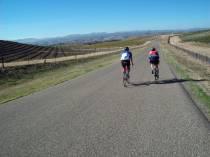 along Cross Canyons Road