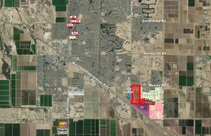 Maricopa-Casa Grande Hwy. and Porter Rd. - NEC 3