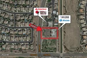 Pecos Road and Lindsay Road - NEC 2