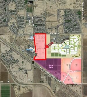 Maricopa-Casa Grande Hwy. and Porter Rd. - NEC 1