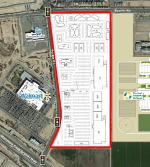Maricopa-Casa Grande Hwy. and Porter Rd. - NEC 2