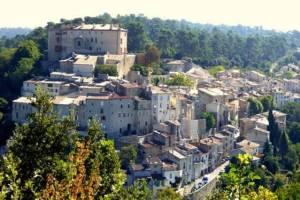 Vue du village de La Verdière