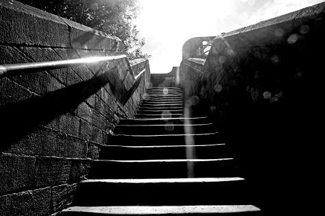 The bridge ascent