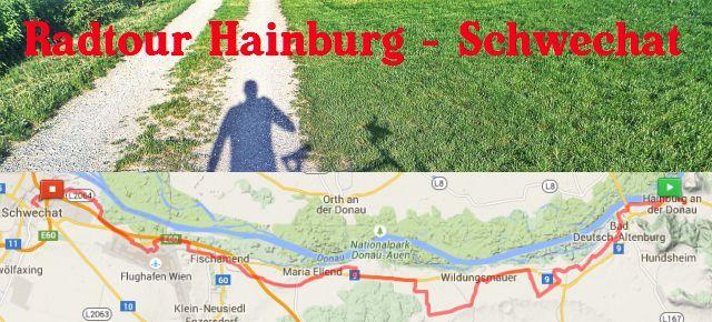 Radtour Hainburg – Schwechat