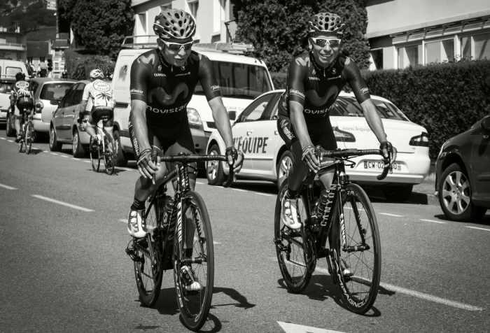 Dayer and Nairo Quintana