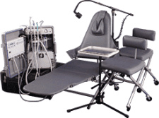 Aseptico Portable dentistry equipment
