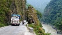 Sur la route, Nepal