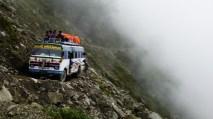 Sur la route pour le Langtang..., Nepal