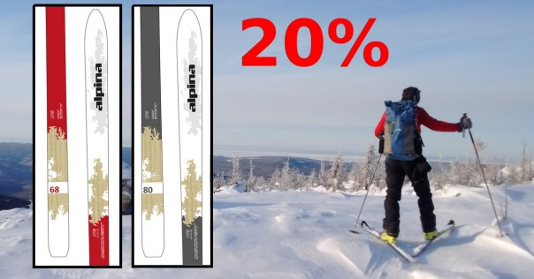 De Rabais Sur Skis ALPINA Dsicovery Et Vélo Spécialité - Alpina discovery skis