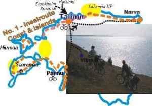 EE1: Estonia Baltic Sea coast route
