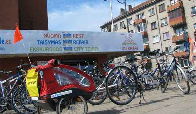 Our partner in Klaipeda: Du ratai / Baltic Bike Travel