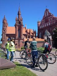 daily bike tours in Vilnius