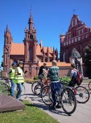 daily bike tours in Vilnius