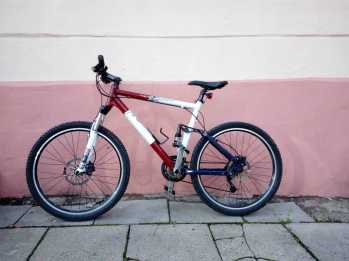 260€, Full-suspension MTB, Shimano CR complectation, 26ˇ,