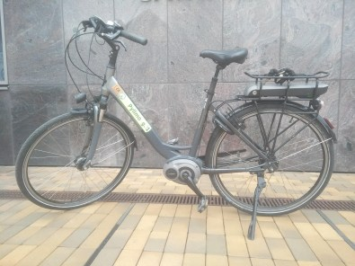 €800. EBike Giant with Bosch engine. 8 gears
