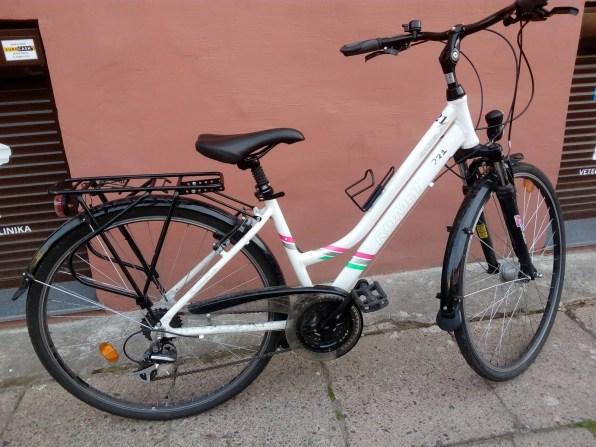 €240. Romet Gazela 2. 21 gears. Innerhub lights