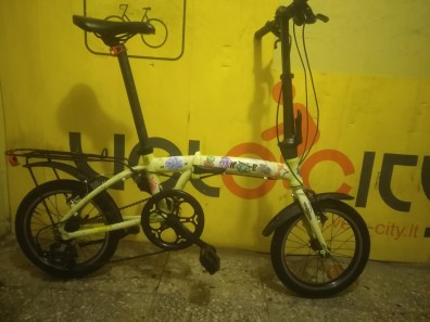 €150. Small Box. Very good and very small folding bike. 5 gears