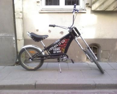 €150 Chopper Bike. 3 gears Shimano