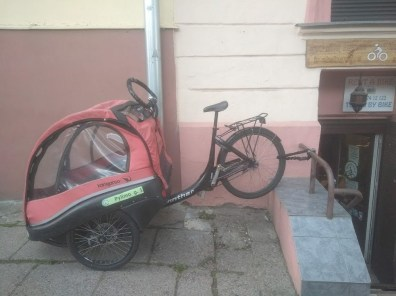 €350. Winther Cangaroo. Cargo bike for 2 kids. 7 gears. Disk brakes