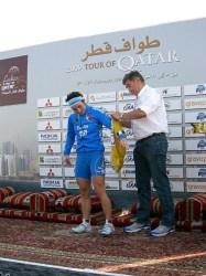 Georgia Bronzini winner stage 6, 2012 Tour of Qatar