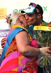Tom Boonen victorious in last year's E3 (image courtesy of Danielle Haex)