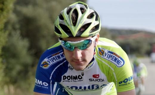 Elia Viviani (image courtesy of Liquigas-Cannondale website)