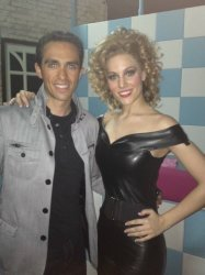 Alberto auditions for lead role in Grease ( image courtesy of @AlbertoContad