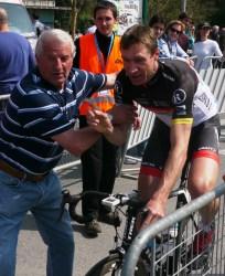 Hurry along Jens (image courtesy of R Whatley)