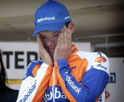 LL CoolJ Sanchez can't quite believe it! (image courtesy of Rabobank)
