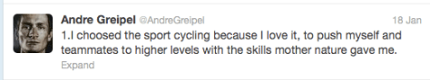 Greipel response 1
