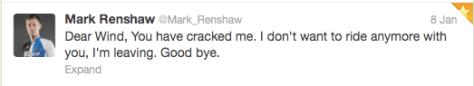Renshaw wind