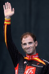 Before picture of Alejandro Valverde (image courtesy of Caisse d'Epargne)