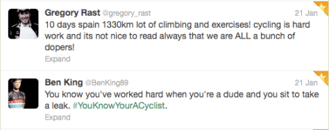 You know youre a cyclist 1