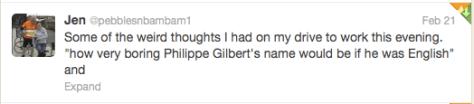 Philippe Gilbert in English
