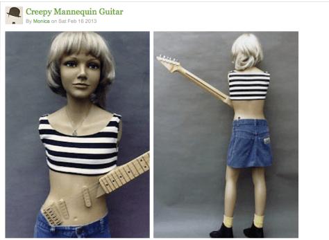 Taylor guitar mannequin 2