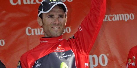 Valverde, victorious again in Ruta del Sol (image courtesy of Movistar)