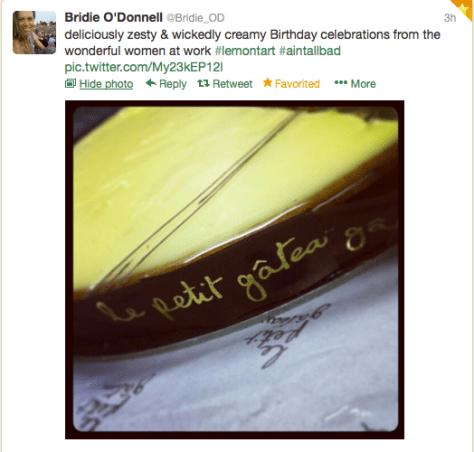 Food G Bridie cake