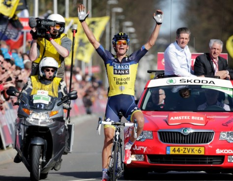 Could Kreuziger add to his Amstel Gold victory here in San Sebastian? (image: Amstel Gold website)