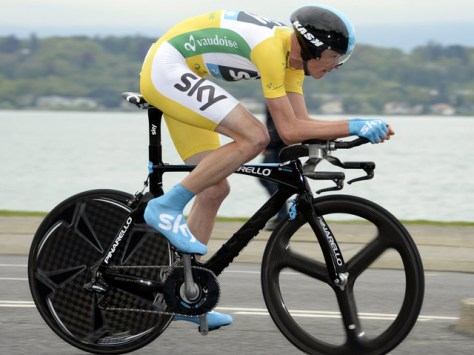 Froome has grown accustomed to riding in yellow this year - can he repeat it at the Tour? (Image: Sky)